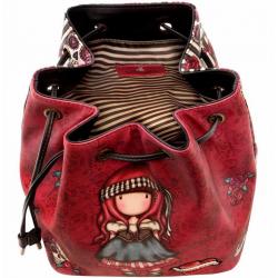 BORSA A SECCHIELLO bucket bag MARY ROSE gorjuss ROSSO chiusura a strozzo 1070GJ01 Gorjuss - 2