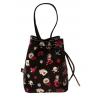 BORSA A SECCHIELLO PICCOLA small bucket bag MARY ROSE gorjuss ROSSO a strozzo 1071GJ01 Gorjuss - 3