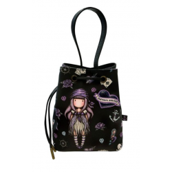 BORSA A SECCHIELLO PICCOLA small bucket bag SEA NIXIE gorjuss VIOLA a strozzo 1071GJ02 Gorjuss - 1