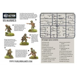 US MARINES Bolt Action WWII Pacific Theatre 30 miniature 28mm Warlord Games Warlord Games - 3