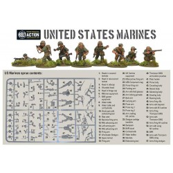 US MARINES Bolt Action WWII Pacific Theatre 30 miniature 28mm Warlord Games Warlord Games - 2