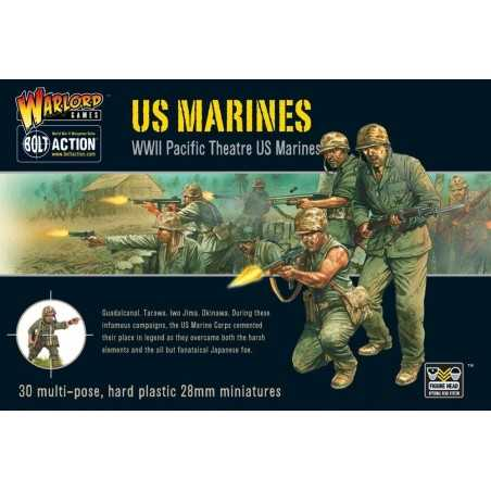 US MARINES Bolt Action WWII Pacific Theatre 30 miniature 28mm Warlord Games Warlord Games - 1