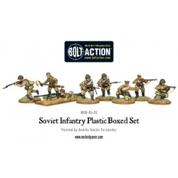 SOVIET INFANTRY Bolt Action 40 miniature in plastica 28mm Red Army Fanteria Russa Warlord Games Warlord Games - 3