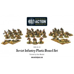 SOVIET INFANTRY Bolt Action 40 miniature in plastica 28mm Red Army Fanteria Russa Warlord Games Warlord Games - 4
