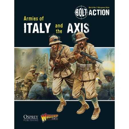 ARMIES OF ITALY AND THE AXIS Bolt Action rulebook manuale in Inglese Osprey Warlord Games Warlord Games - 1
