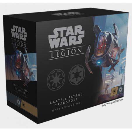 LAAT LE PATROL TRANSPORT espansione per STAR WARS LEGION unit expansion FANTASY FLIGHT GAMES età 14+ Fantasy Flight - 1