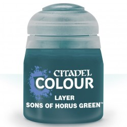 SONS OF HORUS GREEN layer colore Citadel acrilico verde 12ml Games Workshop - 1