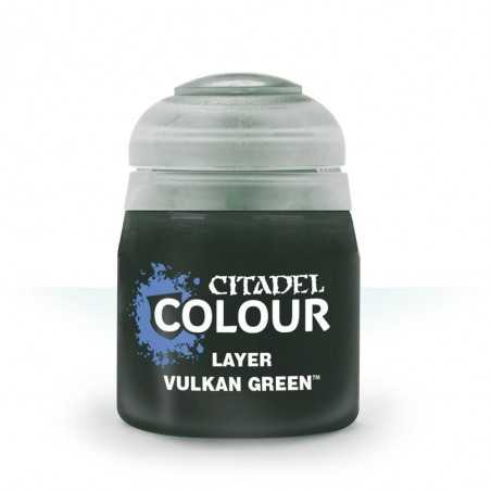 VULKAN GREEN layer colore Citadel acrilico verde 12ml Games Workshop - 1