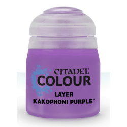 KAKOPHONI PURPLE colore LAYER citadel 12ML acrilico VIOLA opaco GAMES WORKSHOP età 12+ Games Workshop - 2