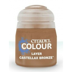 CASTELLAX BRONZE colore LAYER citadel 12ML acrilico BRONZO opaco GAMES WORKSHOP età 12+ Games Workshop - 2