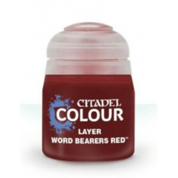WORD BEARERS RED colore LAYER citadel 12ML acrilico ROSSO opaco GAMES WORKSHOP età 12+ Games Workshop - 2