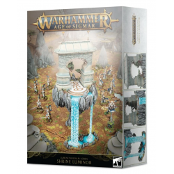 SHRINE LUMINOR lumineth realm lords WARHAMMER age of sigmar CITADEL games workshop SCENARIO età 12+ Games Workshop - 1