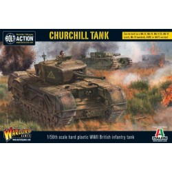 CHURCHILL TANK carro armato BOLT ACTION miniatura in plastica WARLORD GAMES ww2 wargame SCALA 1:56 Warlord Games - 1