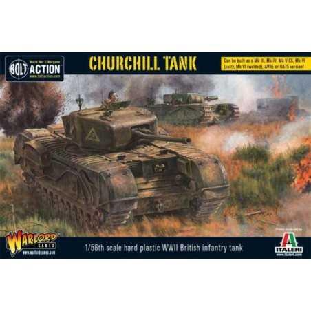 CHURCHILL TANK carro armato BOLT ACTION miniatura in plastica WARLORD GAMES ww2 wargame SCALA 1:56 Warlord Games - 1
