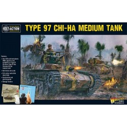 TYPE 97 CHI HA MEDIUM TANK carro armato giapponese BOLT ACTION miniatura in plastica WARLORD GAMES scala 1:56 Warlord Games - 1