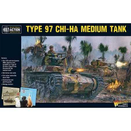 TYPE 97 CHI HA MEDIUM TANK carro armato giapponese BOLT ACTION miniatura in plastica WARLORD GAMES scala 1:56 Warlord Games - 1