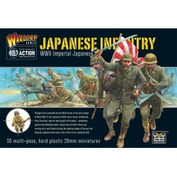 IMPERIAL JAPANESE INFANTRY WW2 soldati giapponesi fanteria imperiale BOLT ACTION 30 miniature WARLORD GAMES Warlord Games - 1