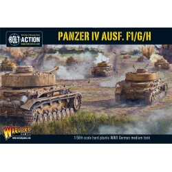 PANZER IV AUSF F1/G/H carro armato tedesco BOLT ACTION miniatura in plastica WARLORD GAMES scala 1/56 Warlord Games - 1
