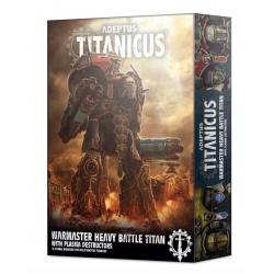 WARMASTER HEAVY BATTLE TITAN with plasma destructors ADEPTUS TITANICUS 1 miniatura CITADEL età 12+ Games Workshop - 1