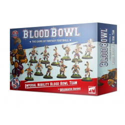 IMPERIAL NOBILITY the bogenhafen barons BLOOD BOWL team WARHAMMER 12 miniature GAMES WORKSHOP età 12+ Games Workshop - 1