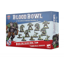 BLACK ORC the thunder valley greenskins BLOOD BOWL team WARHAMMER 12 miniature GAMES WORKSHOP età 12+ Games Workshop - 1