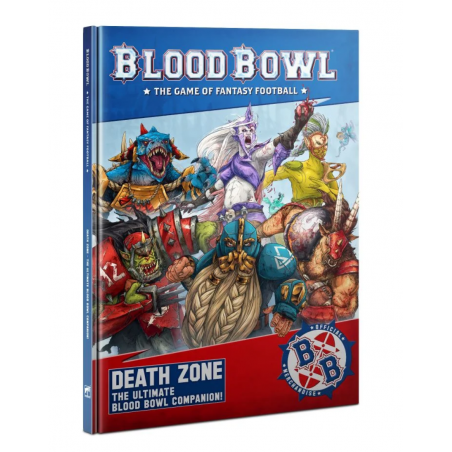 DEATH ON THE PITCH the ultimate BLOOD BOWL companion MANUALE libro IN INGLESE supplemento Games Workshop - 1
