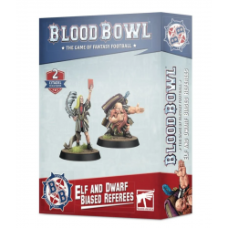 ELF AND DWARF biased refereers BLOOD BOWL 2 miniature WARHAMMER games workshop CITADEL età 12+ Games Workshop - 1