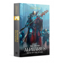 ALPHARIUS head of the hydra BLACK LIBRARY libro IN INGLESE mike brooks THE HORUS HERESY primarchs Games Workshop - 1