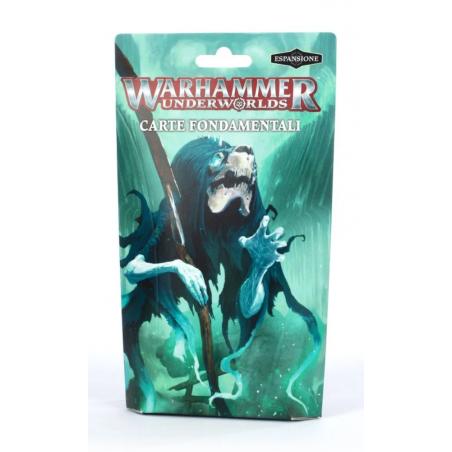 CARTE FONDAMENTALI espansione per WARHAMMER UNDERWORLDS in italiano GAMES WORKSHOP età 12+ Games Workshop - 1