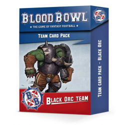 TEAM CARD PACK set di carte BLACK ORC TEAM in inglese BLOOD BOWL citadel WARHAMMER età 12+ Games Workshop - 1