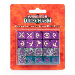 GRAND ALLIANCE DEATH DICE PACK warhammer UNDERWORLDS direchasm SET DI 20 DADI Games Workshop - 1