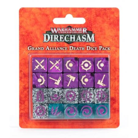 GRAND ALLIANCE DEATH DICE PACK warhammer UNDERWORLDS direchasm SET DI 20 DADI Games Workshop - 1