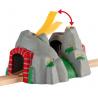 TUNNEL DELLE AVVENTURE ferrovia TRENO trenino BRIO world 33481 railway SONORO età 3+ BRIO - 2