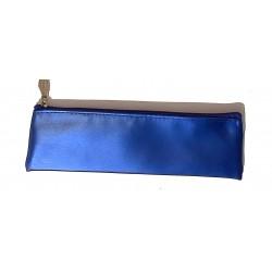 ASTUCCIO saccuccioli MINI BUSTINA glam glitter BLU con zip LEBEZ Legami - 1
