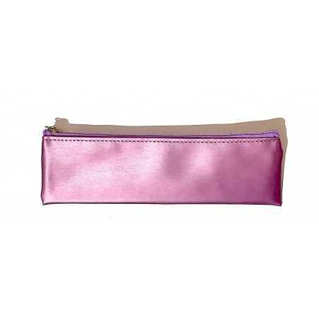 ASTUCCIO saccuccioli MINI BUSTINA glam glitter VIOLA con zip LEBEZ Legami - 1