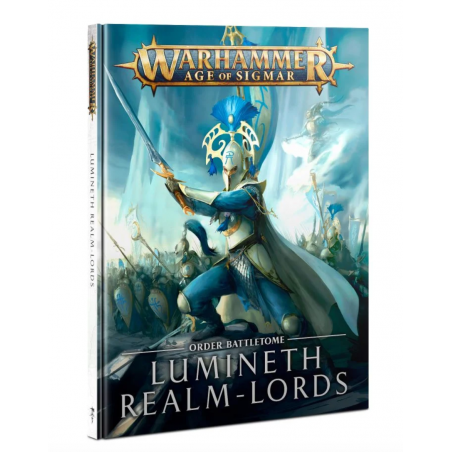 LUMINETH REALM LORDS order battletome IN ITALIANO libro WARHAMMER manuale AGE OF SIGMAR Games Workshop - 1