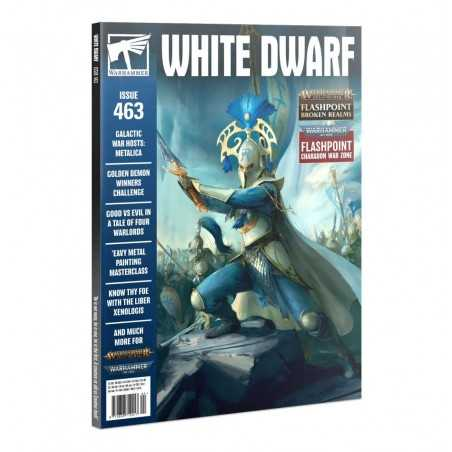 WHITE DWARF issue 463 april 2021 Warhammer Magazine Games Workshop - 1