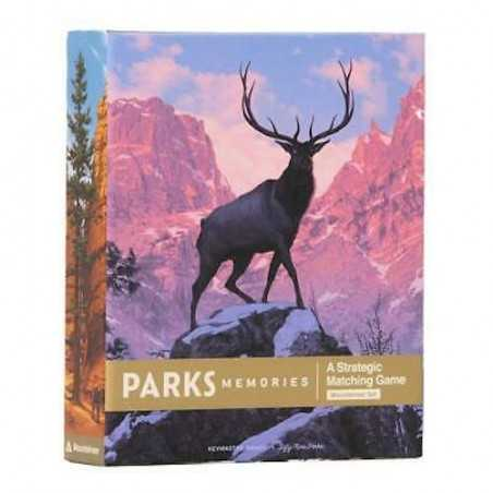 PARKS memories MOUNTAINEER SET strategic matching game IN INGLESE gioco KEYMASTER GAMES età 6+ Asmodee - 1