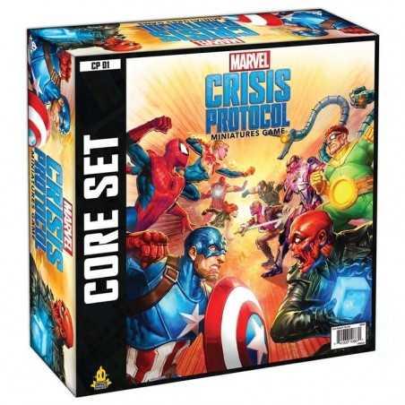 MARVEL CRISIS PROTOCOL gioco da tavolo CORE SET atomic mass games IN INGLESE età 14+  - 1