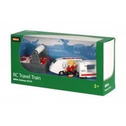 TRENO TELECOMANDATO treni legno BRIO trenino 33510 Remote Control Travel Train