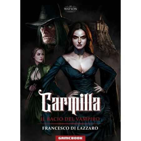 CARMILLA il bacio del vampiro FRANCESCO DI LAZZARO libro gioco GAME BOOK watson  - 1