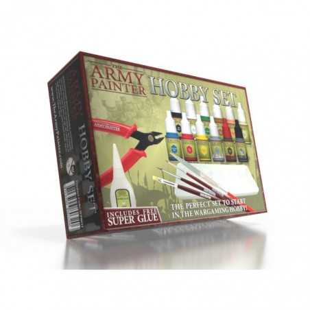 HOBBY SET kit modellismo THE ARMY PAINTER completo COLORI STRUMENTI E COLLA THE ARMY PAINTER - 1