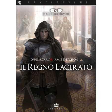 IL REGNO LACERATO terre leggendarie LIBRARSI fantasy game LIBRO GIOCO LIBRARSI - 1
