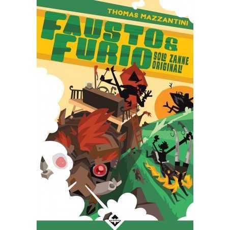FAUSTO E FURIO solo zanne originali LIBRO GIOCO acheron GAME BOOK LIBRARSI - 1