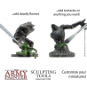 SCULPTING TOOLS set di 3 attrezzi da scultura THE ARMY PAINTER in metallo 6 PUNTE THE ARMY PAINTER - 6