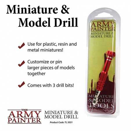MINIATURE & MODEL DRILL trapano per miniature THE ARMY PAINTER manuale THE ARMY PAINTER - 2