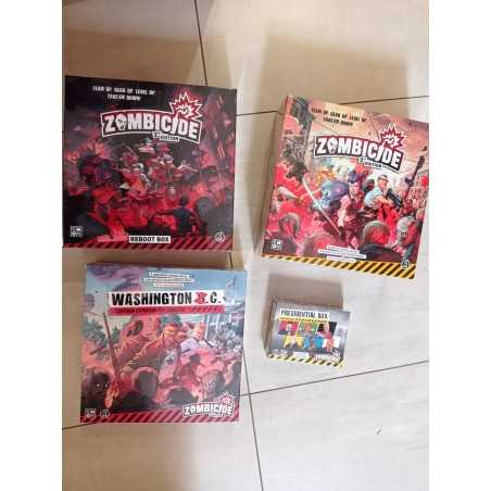 ZOMBICIDE 2nd edition KICKSTARTER PRESIDENTIAL PLEDGE with all Stretch Goals COOLMINIORNOT - 1