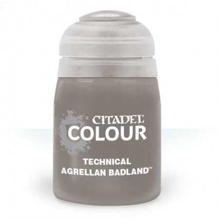 AGRELLAN BADLAND colore TECHNICAL citadel 12ML acrilico EFFETTO SUOLO ARIDO Games Workshop - 1