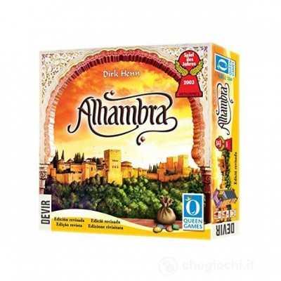 ALHAMBRA edizione multilingue IN ITALIANO gioco da tavolo EDIZIONE RIVISITATA età 8+ DEVIR - 1