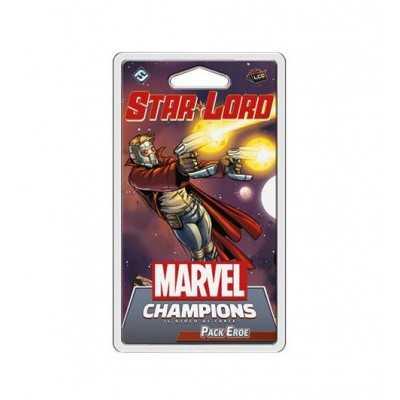 STAR LORD in italiano PACK EROE espansione per MARVEL CHAMPIONS il gioco di carte ASMODEE età 12+ Asmodee - 1